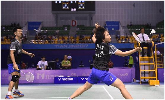 激情回顾 十三届全运会羽毛球广东红日厨卫队风采