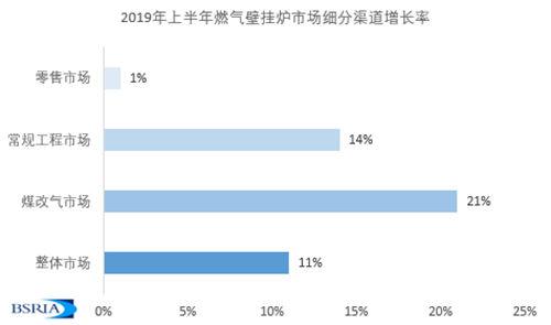 2019上半年中国燃气壁挂炉市场发展概览